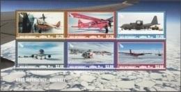 Ross Depency 2018 Bloc Feuillet Les Transport Aèriens En Régions Polaires Neuf ** - Ross Dependency (New Zealand)