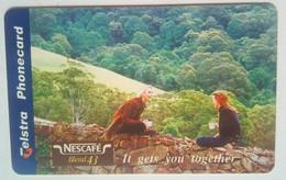 $5 Chip Card Nescafe - Australia