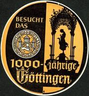 "Hotelaufkleber Etiquette Pour Valise "" Göttingen 1000 Jahre "" Kofferaufkleber Luggage Label Adesivi Per Hotel - Adesivi Di Alberghi"