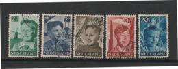 Nederland  1951  NVPH Nr. 573-577  Used - Used Stamps