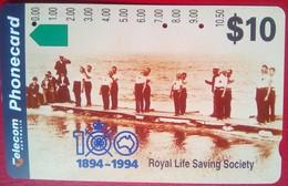 $10 Royal Life Saving Society 100th Years - Australia