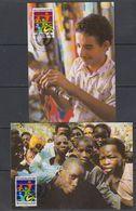 UNO Wien 1984 Weltjugendjahr 2 Maxicards (47767) - Cartes-maximum