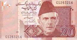Pakistan P.46a 20 Rupees 2005 Unc - Pakistan