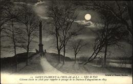 49  SAINT FLORENT Le VIEIL  Effet De Nuit  Colonne élevée En 1828 - Autres Communes