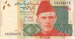 Pakistan P.55a 20 Rupees 2007 Unc - Pakistan