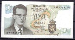 Billet De Banque De VINGT FRANCS - BELGIQUE - En Parfait état Non Plié - [ 6] Schatzamt