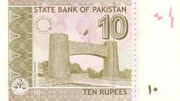 Pakistan P.45a 10 Rupees 2006 Unc - Pakistan
