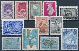 ARGENTINA  -  ANTARTIDA  -  Lot Marken ** Mit Antarktis-Motiven - Chile