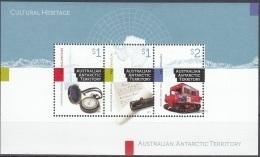 Australian Antarctic Territory 2017 Bloc Feuillet Patrimoine Culturel Neuf ** - Australisches Antarktis-Territorium (AAT)