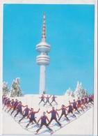 BULGARIA - AK 379975 Pamporovo - Der Fernsehturm - Bulgaria