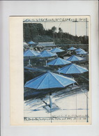 CB05. Christo Promotional Card Umbrella Project Japan/USA. Free UK P+p! - Arte Popular