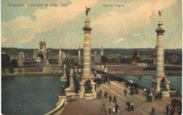 (163) Liège  Pont De Fragnée Exposition Liège 1905 - Liege