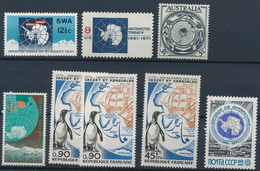 ANTARCTICA  -  Lot Marken ** Mit Antarktis-Motiven - Polarmarken
