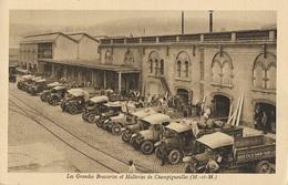 CHAMPIGNEULLES - Les Grandes Brasseries Et Malteries - Quai De Chargement Des Camions Automobiles - France