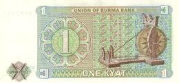Myanmar Burma P.56 1  Kyat 1972  Unc - Myanmar