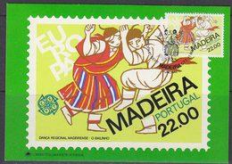 Europa Cept 1981 Madeira 1v Maxicard (47773) - Europa-CEPT
