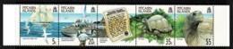 Pitcairn Islands 2000 Protection Ordinance - Giant Tortoise Strip Of 5 MNH - Briefmarken