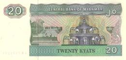Myanmar  P.72  20 Kyats 1994  Unc - Myanmar