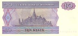 Myanmar  P.71  10 Kyats 1995  Unc - Myanmar