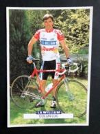 Luc Colijn - La William Duvel Chesini - 1992 - Carte / Card - Cyclists - Cyclisme - Ciclismo -wielrennen - Ciclismo
