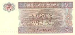 Myanmar  P.70  5 Kyats 1995  Unc - Myanmar