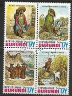 Burundi. - 1977 Fairy Tales 17fr CTO - Burundi