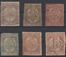 Cuba Fiscales Timbre Movil 1890 1997 - Cuba (1874-1898)