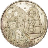 Monnaie, FUJAIRAH, Muhammad Bin Hamad Al-Sharqi, 10 Riyals, 1969, SPL, Argent - Fujairah