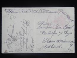29 Austria KuK K.u.K. Marine SMS S.M.S. S M S Navy Pola Kriegsmarine Ship Schiff Stamp Stampel 1917 S M B S.M.B. 16 Mona - Guerre