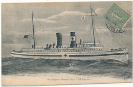 JAN BREYDEL, His Majesty's Hospital Ship - Navire Hôpital - Oorlog