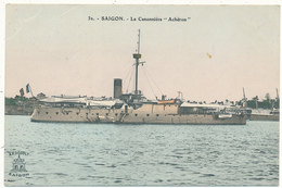 """SAIGON - La Canonnière """"Achéron"""" - Warships"""