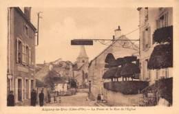 21 - COTE D'OR - AIGNAY LE DUC - 10052 - Poste - Rue De L'église - Aignay Le Duc