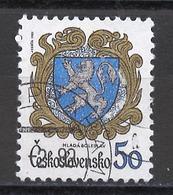Tchécoslovaquie - Tschechoslowakei - Czechoslovakia 1982 Y&T N°2474 - Michel N°2651 (o) - 50h Armoirie De Mlada Boleslav - Gebraucht