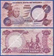 NIGERIA 5 Naira 1984 ALHAJI Sir ABUBAKAR TAFAWA BALEWA And  NKPOKITI DRUMMERS - Nigeria