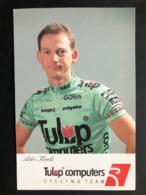Adri Kools - Tulip Computers - 1992 - Carte / Card - Cyclists - Cyclisme - Ciclismo -wielrennen - Ciclismo