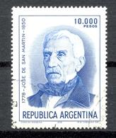 Timbre Oblitéré - Argentine / Republica Argentina - José De San Martin 1778 - 1850 - (14) - Argentinien