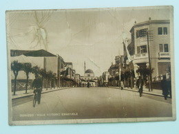 Durazzo Durce Durres 1060 Viale Vittorio Emanuele 1939 Ed S. Kokolari - Albania