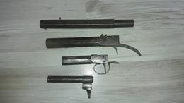 Lot De 4 Canons - Armes Neutralisées