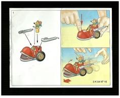 Kinder Ferrero BPZ - Cartina Kinder Maxi K 04 - 16 - Monoblocs