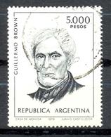 Timbre Oblitéré - Argentine / Republica Argentina - Guillermo Brown - (1) - Argentinien