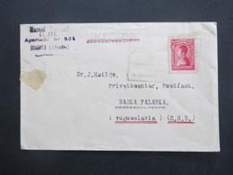 Kolumbien 1930 Impresso Bogota - Backa Palanka Jugoslawien - Kolumbien
