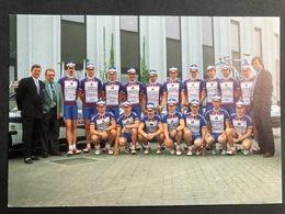Assur Carpets - Willy Naessens - Team - 1992 - Carte / Card - Cyclists - Cyclisme - Ciclismo -wielrennen - Ciclismo