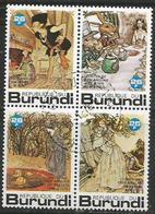 Burundi. - 1977 Fairy Tales 26fr CTO - Burundi