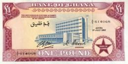Ghana 1 Pound, P-2d (1.7.1962) - UNC - Ghana