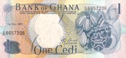 Ghana 1 Cedi, P-10d (1.10.1971) - UNC - Ghana