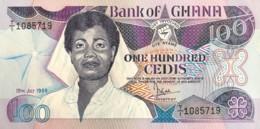 Ghana 100 Cedis, P-26a (15.7.1986) - UNC - Ghana