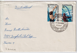 Austr. Ant. Territory Mi 10 + 12 On FDC Cover (05508) - FDC