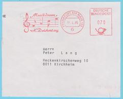 J.M. 41 - Musique - E.M.A. - Allemagne -  N° 38 - Magasin De Musique - Portée De Musique - Clé De Sol - Musique