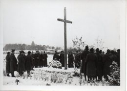 Photo Cérémonie Religieuse  Stalag IA 80   Format 7/10 - Krieg, Militär