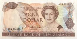 New Zealand 1 Dollar, P-169b (1985) - UNC - AHV000027 - Neuseeland